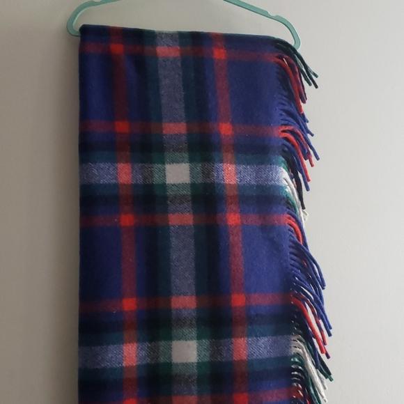 VINTAGE Providence Made in Ireland WOOL blanket